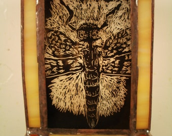 Experimental Bug Stained Glass Nightlight