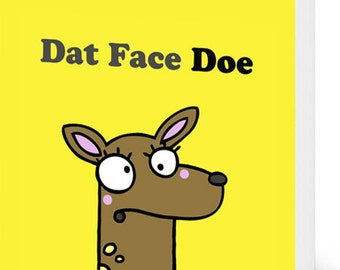 Dat Face Card
