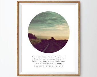 Psalm 16:11 Print