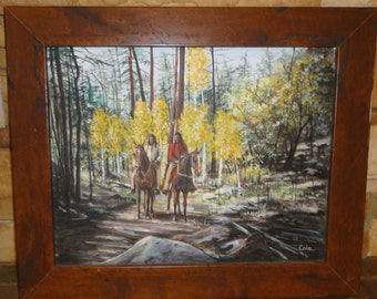 Small Oil Painting/Flagstaff, Arizona Artist Nancy Cole