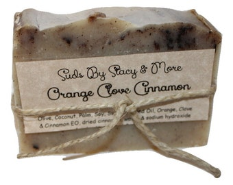 Orange Clove Cinnamon Soap