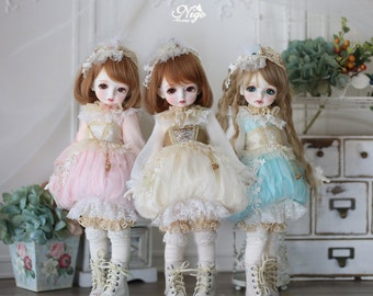 Nigo---BJD clothes { Cinderella }= Pumpkin for Holiday Child/MSD/SDM