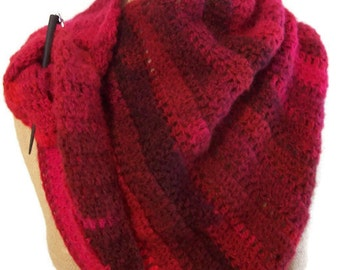 Fiery Cross inspired shawl wrap cowl Outlander book five