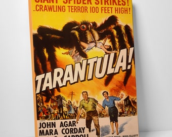 Tarantula! Gallery Wrapped Canvas Print