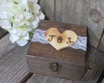 Keepsake box, wood jewelry box, custom jewelry box, wood anniversary, 5th anniversary, custom keepsake box, personalized box, gift for her