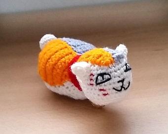 Nyanko-sensei amigurumi doll