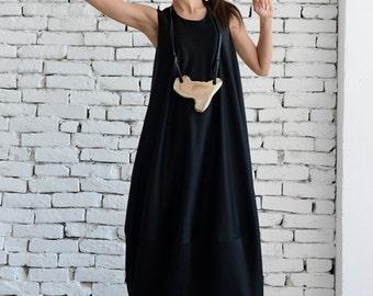 Cotton maxi dress - Etsy