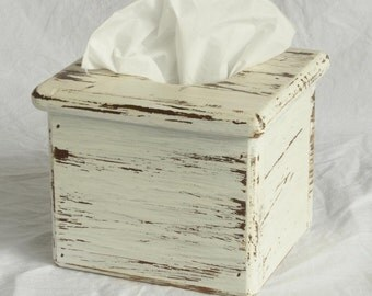 Tissue Box Holder – Wooden – Boutique tissue boxes – Holds boutique facial tissue boxes