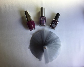 JUMBO SIZE - Nail Polish Swatches - works great with Jamberry too