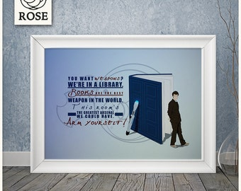 Poster - Doctor Who   Books