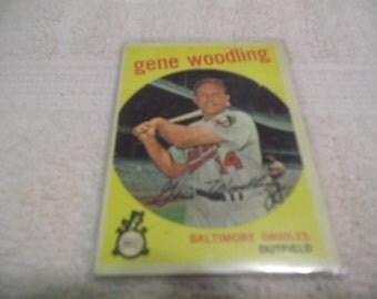 1959 Topps #170 Gene Woodling
