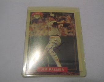 1994 Nabisco All- Star Legends Jim Palmer Autographed Card/COA