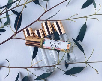 CLOVER & IVY Natural Roll-On Perfume | Natural Perfume