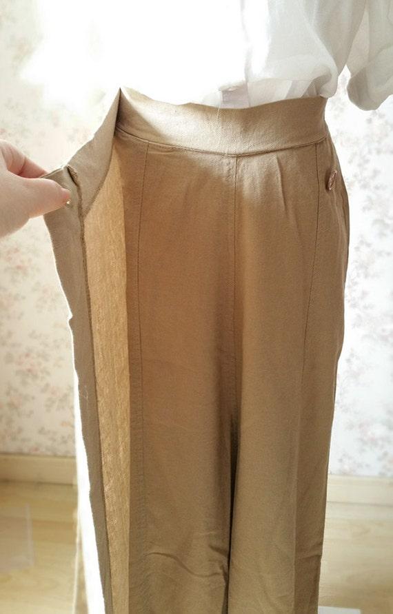 Luxury Khaki Loose Fit Oem Fashion Women Pants  Buy PantsTrousersWomen