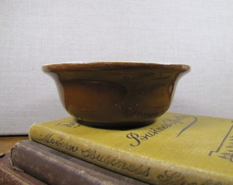 Hall 391 - Small Brown Baking Dish