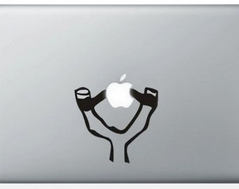 "Sticker ""Slingshot"" for MacBook and iPad"