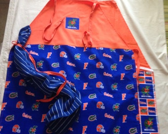 "Florida ""Gators"" Grilling Apron w/Detachable Towel"