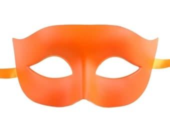 Orange Masquerade Mask