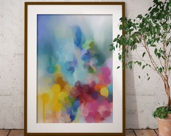 Framed Abstract Art - Limited Edition Abstract Giclee Print - Modern Art Print from Original Abstract Painting