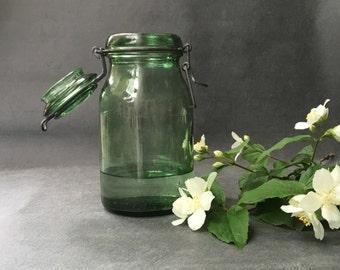 Jar vintage - vintage Vase Green