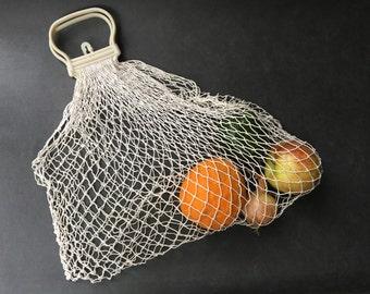 NET shopping vintage - mid century net bag