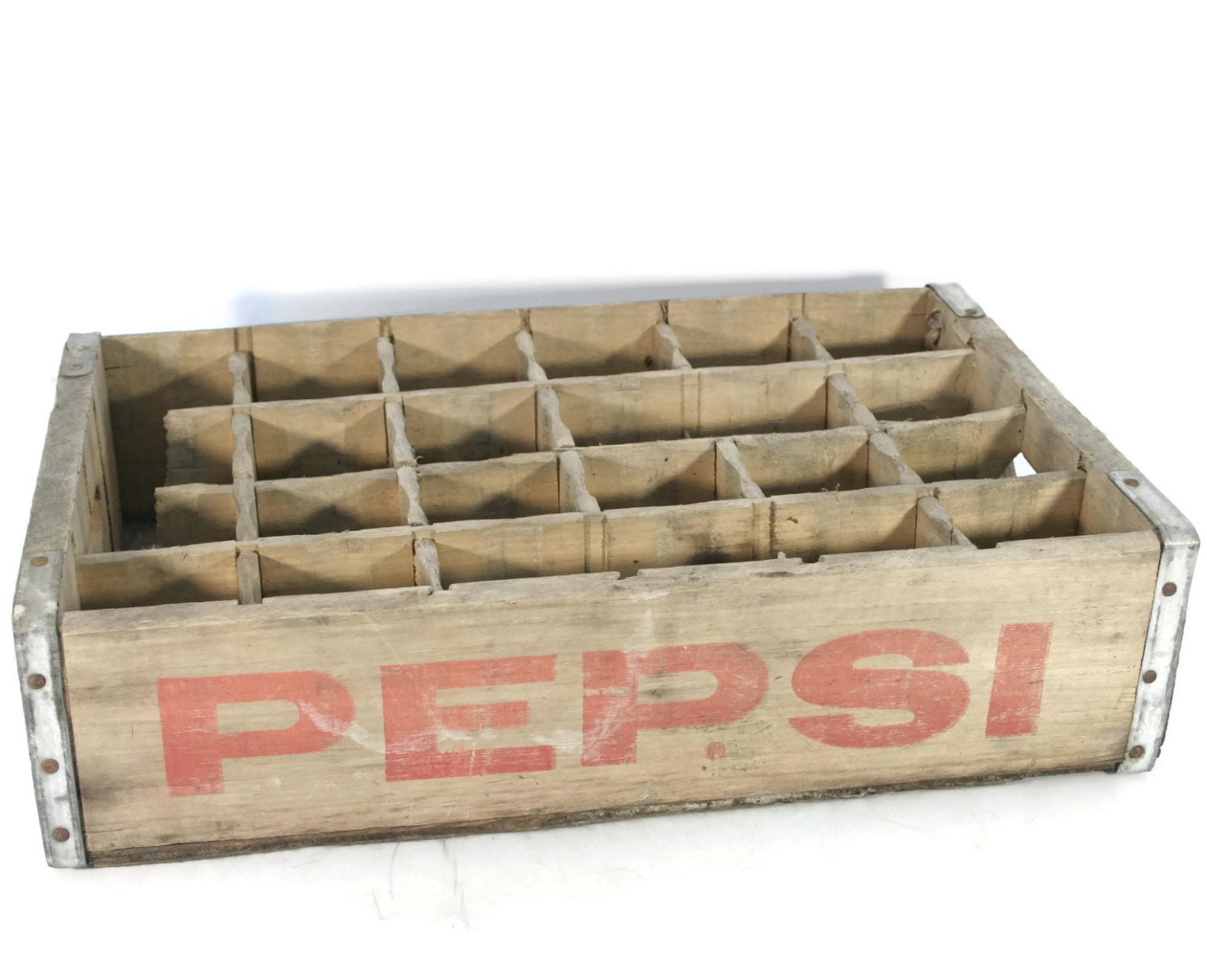 Wooden crate pepsi cola crate pepsi bottle crate for Timber crates