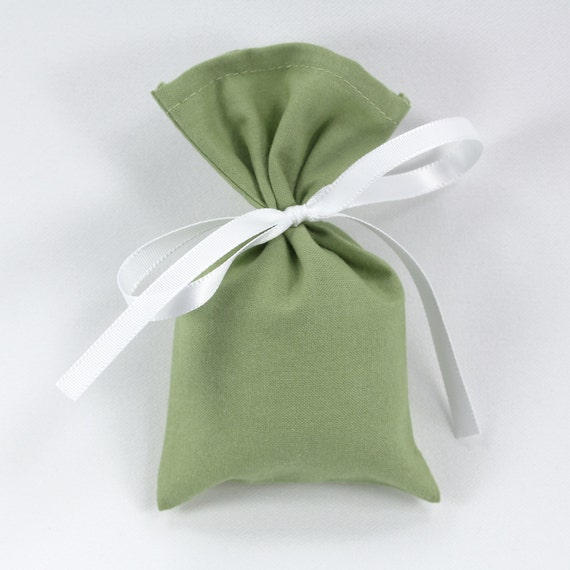 Wedding Favor Bags With Ribbon : Sachet bag w/white ribbon, wedding favors, party favor bag, party ...