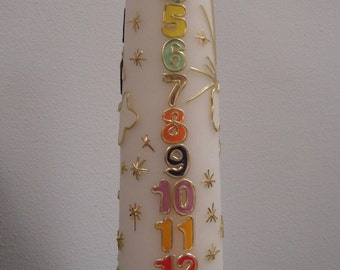 Birth candles, baptism candles and Memorial candles ....