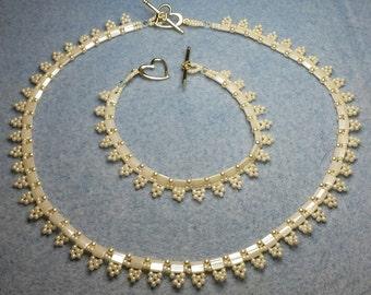 Wedding Necklace & Bracelet
