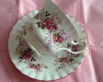 Lavender Rose Royal Albert tea cup and saucer