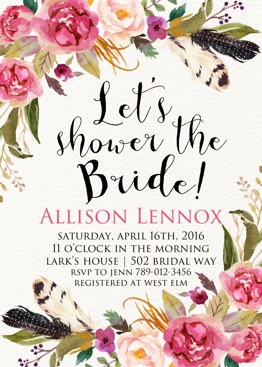 It's just a photo of Obsessed Bridal Shower Invitations Free Printable