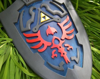 Legend of Zelda Link Hylian Shield cosplay prop