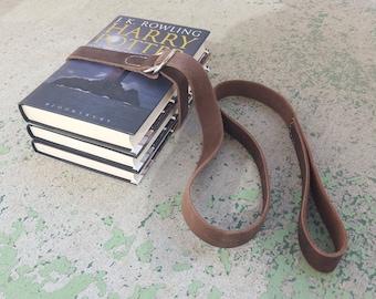 Classic Leather Book Belt