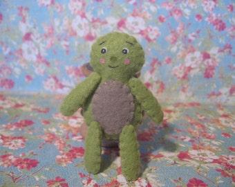 Turtle Pocket Pal Mini Doll