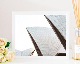 Sydney Opera House Fine Art Print - Original Perspective of the Sydney Opera House - Large Wall Art - Sydney Print - Australian Art - Decor