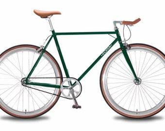 Foffa single speed bike green size medium 55cm