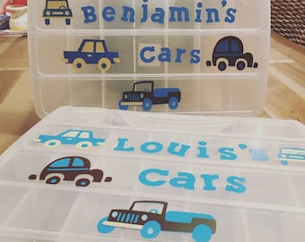 Personalized cars case