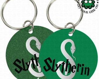 Slytherin Keychain