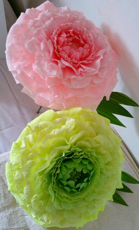 Has Anyone Ordered Wedding Flowers From Costco : Two luxury paper flowers giant by weddingartflowers