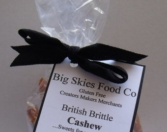 Roasted Cashew Nut Brittle