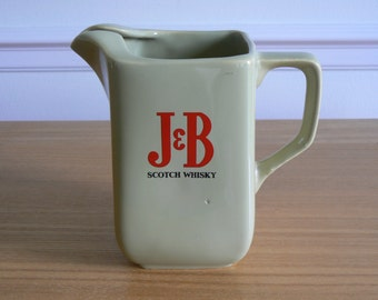 1970s J&B Scotch Whisky Water Jug by Wade.