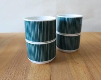 Vintage Thomas Germany TC100 Egg Holders_Set of 4_Nick Roericht Porcelain
