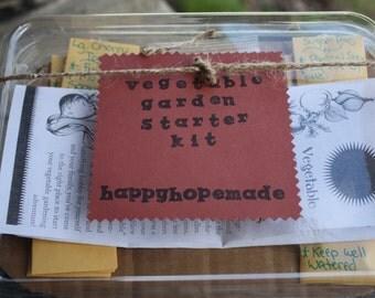 Vegetable Garden or Herb Garden Starter Kit