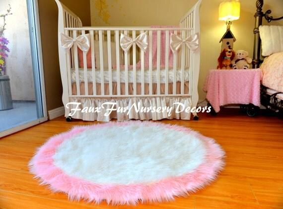 spezielles design kunstpelze hochflor teppiche baby rosa. Black Bedroom Furniture Sets. Home Design Ideas