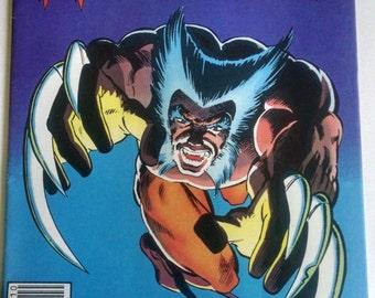 WOLVERINE #2 VF, Frank Miller Limited Series, Marvel Comics 1982 X-Men
