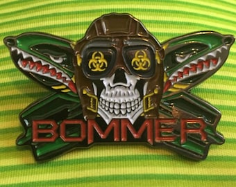BOMMER - Dropping bombs on em Hat pin