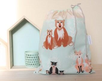 Doudou/snack/odds, Collection Hello Bear bag