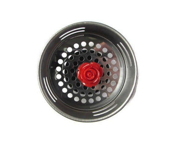 Sink strainer kitchen sink drain water plug by accessoriesbyash - Decorative kitchen sink strainers ...