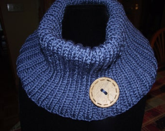 Hand Knit Cowl - Knit Cowl - Scarf - Winter Cowl - Knitted Cowl - Knit Scarf - Hand Knit Scarf - Infiniti Cowl - Infiniti Scarf