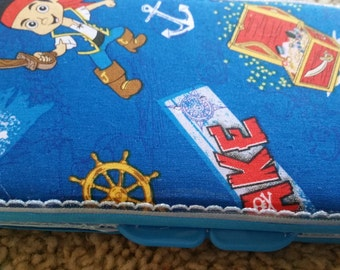 Jake and the neverland pirates diaper wipe case